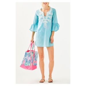 NWT Lilly Pulitzer Piet Beach Coverup Tunic